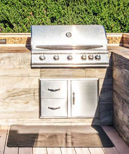 A A Green Landscaping LLC Outdoor Kitchen Services
