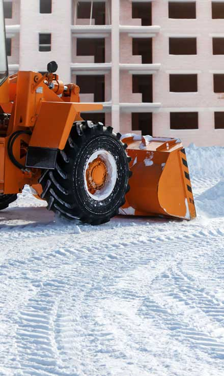 A A Green Landscaping LLC Commercial Snow Removal