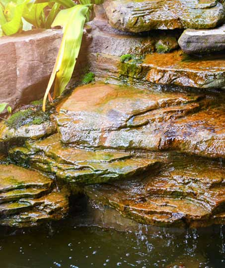 A A Green Landscaping LLC Commercial Water Features