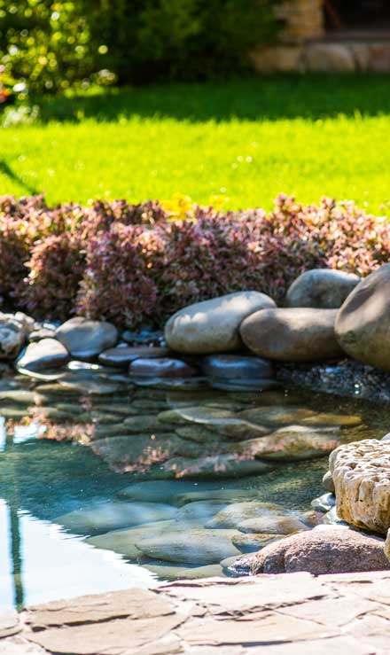 A A Green Landscaping LLC Residential Water Features