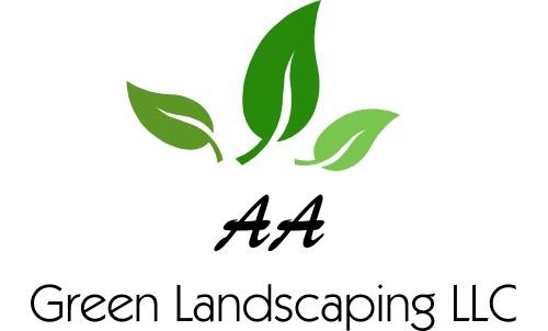 A A Green Landscaping LLC Logo